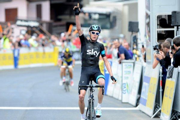 Critérium du Dauphiné Libéré 2013 (5eme étape) : coup double pour Chris Froome qui annonce la couleur...