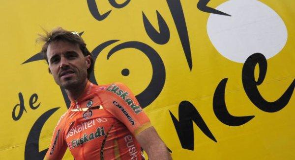 Tour de France 2013: forfait de Samuel Sanchez (Euskaltel-Euskadi)