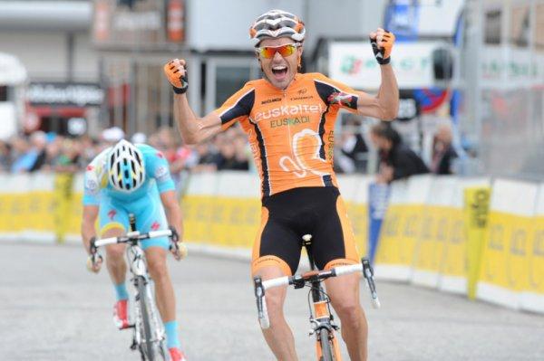 Critérium du Dauphiné Libéré 2013 (7eme étape): la victoire et l'émotion pour Samuel Sanchez...