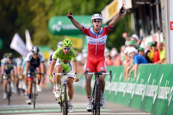 Tour de Suisse 2013 (5eme étape) : Kristoff domine Sagan et s'impose à Leuggern