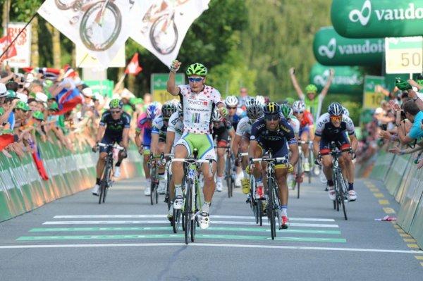 Tour de Suisse 2013 (8eme étape): Peter Sagan s'impose en costaud...