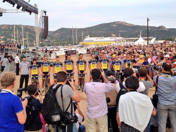 Grand Départ Tour de France 2013 (présentation des équipes): Team Saxo-Tinkoff