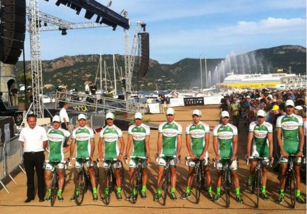 Grand Départ Tour de France 2013 (présentation des équipes): Sojasun