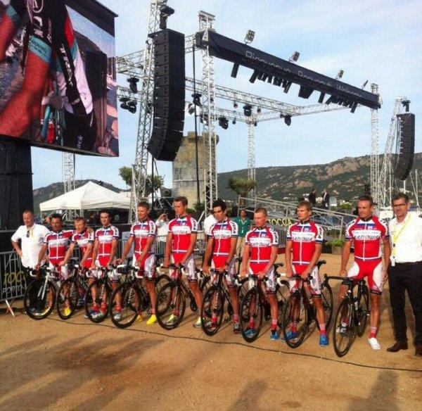 Grand Départ Tour de France 2013 (présentation des équipes) (17): Team Katusha