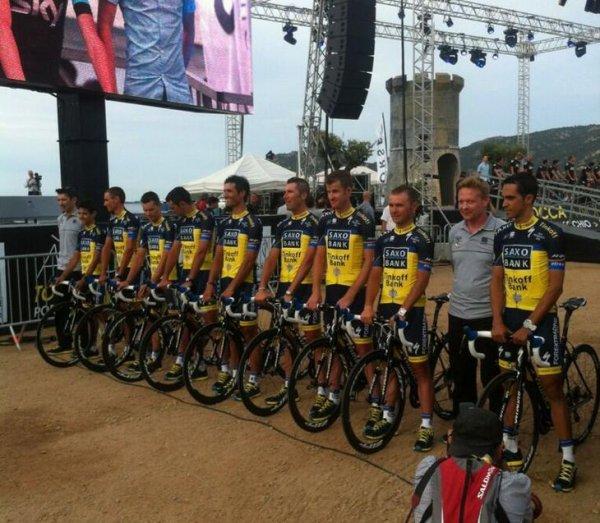 Grand Départ Tour de France 2013 (présentation des équipes) (21): Team Saxo-Tinkoff