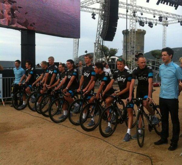 Grand Départ Tour de France 2013 (présentation des équipes) (22): Team Sky