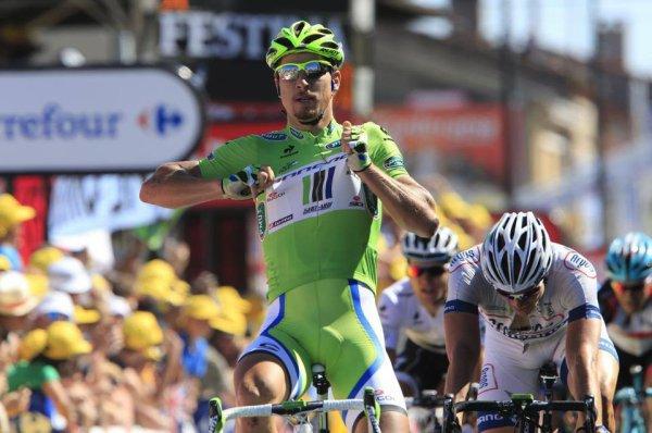 Tour de France 2013 (7eme étape Montpellier / Albi) : Peter Sagan dans un fauteuil, Daryl Impey tojujours en jaune...