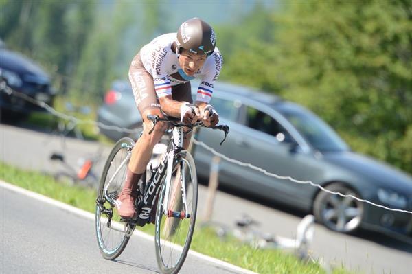Tour de France 2013 (11ème étape Avranches / Mont Saint-Michel), Contre la montre individuel : Jean-Christophe Péraud se replace au classement général...
