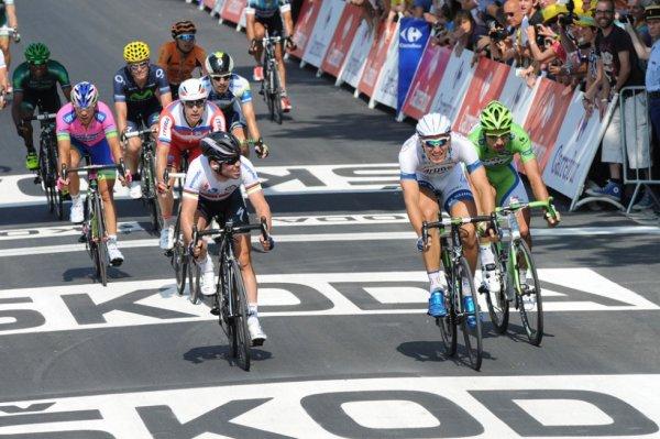 Tour de France 2013 (12ème étape) : Fougères / Tours : Marcel Kittel s'offre sa 3eme victoire en battant Cavendish sur la ligne...