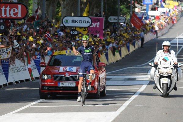 Tour de France 2013 (16ème étape : Vaison-la-Romaine / Gap) : Rui Costa en solitaire, devant trois français...