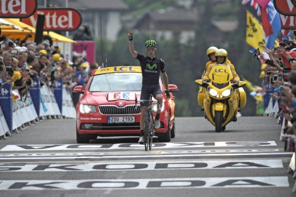 Tour de France 2013 (19eme étape : Bourg d'Oisans / Le Grand Bornand) : Rui Costa remporte sa 2eme victoire d'étape après celle de Gap...