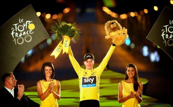 Classement UCI World Tour 2013 : Christopher Froome prend la tête