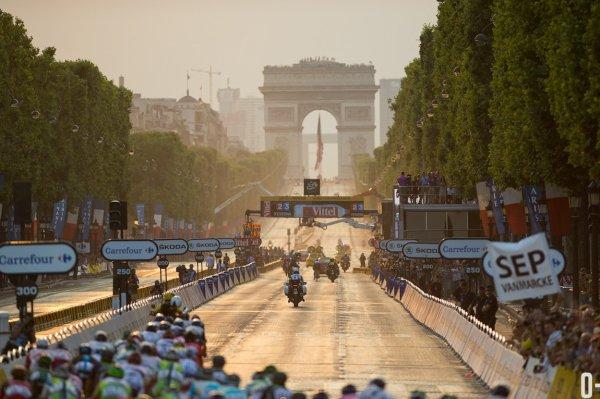 Tour de France 2013 : les images de la dernière étape...
