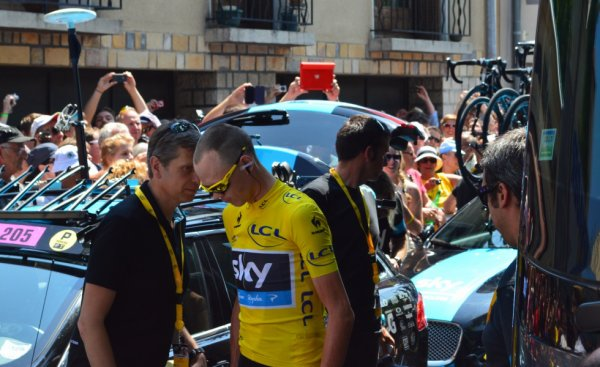 Tour de France 2013 (Photos du départ Vaison-la-Romaine) : Christopher Froome