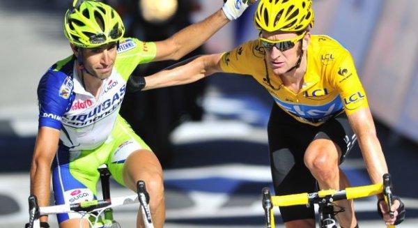 Tour de Pologne 2013 : Bradley Wiggins et Vincenzo Nibali au départ...
