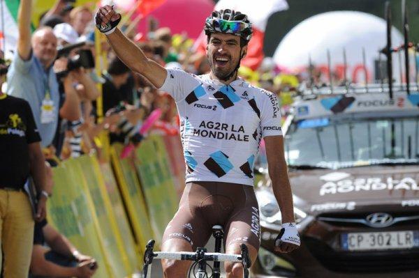 Tour de Pologne 2013 (2eme étape) : Christophe Riblon récidive et s'offre l'étape des Dolomites...