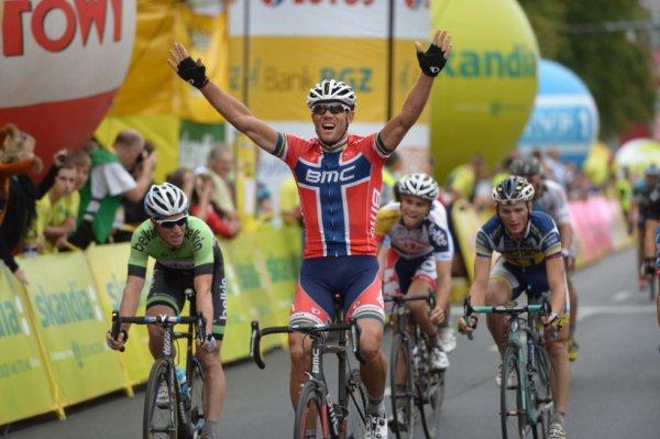 Tour de Pologne 2013 (3eme étape) : Victoire au sprint de Thor Hushovd...