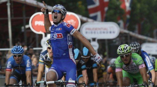 RideLondon Classic 2013 : Arnaud Démare remporte le sprint à Londres...