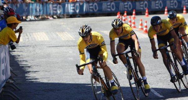 Tour du Portugal 2013 (Prologue) : Cyclingteam  De Rijke-Shanks s'offre la victoire devant Sojasun