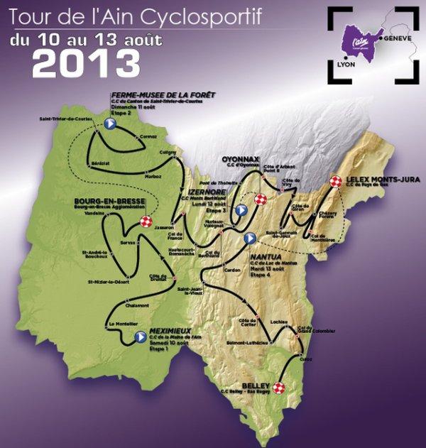 Tour de l'Ain 2013 : présentation de la 25eme édition
