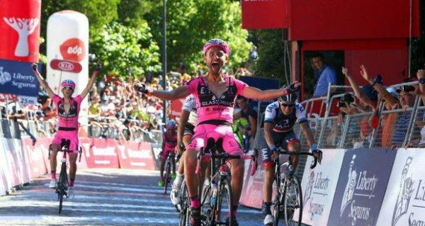 Tour du Portugal 2013 (2eme étape) : Rui Sousa vainqueur d'étape, Marcel Wyss nouveau leader...