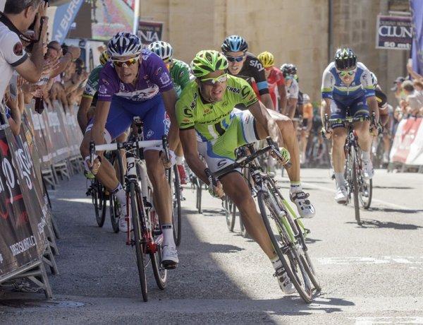 Tour de Burgos 2013 (4eme étape) : Anthony Roux hérite de la victoire après le déclassement de Ratto