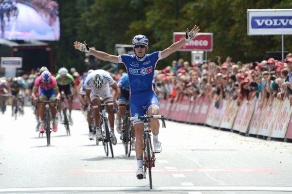 Eneco Tour 2013 (2eme étape) : Arnaud Démare s'impose devant Gilbert et fait coup double à Forest