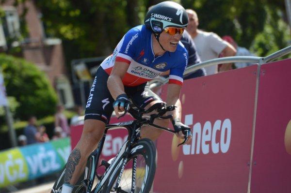 Eneco Tour 2013 (5eme étape) : Sylvain Chavanel enlève le contre la montre, Boom toujours leader...