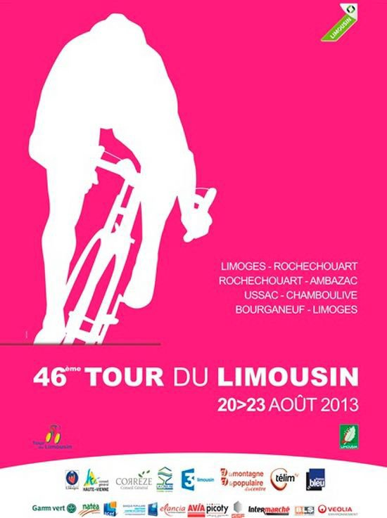 Affiche Officielle Tour du Limousin 2013