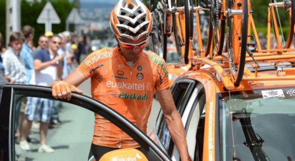 Euskatel-Euskadi quittera le peloton à la fin de la saison 2013...