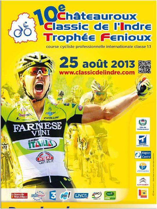 Affiche officielle Classic de L'Indre 2013
