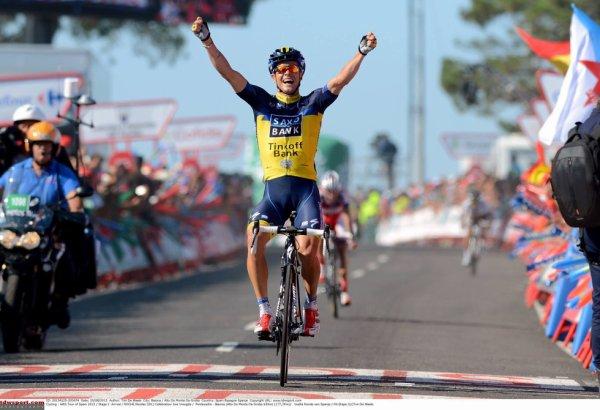 Tour d'Espagne 2013 (2eme étape) : Nicolas Roche s'impose, Vincenzo Nibali nouveau maillot rouge...