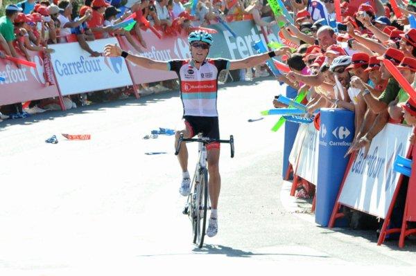 Tour d'Espagne 2013 (3eme étape) : Christopher Horner fait coup double en Galice...
