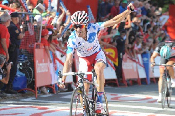 """Tour d'Espagne 2013 (4eme étape) : Daniel Moreno vainqueur devant """"Spartacus"""""""
