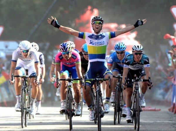 Tour d'Espagne 2013 (5eme étape) : Michael Matthews remporte le premier sprint massif