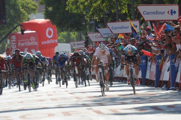 Tour d'Espagne 2013 (7eme étape) : Zdenek Stybar l'emporte d'un souffle devant Philippe Gilbert