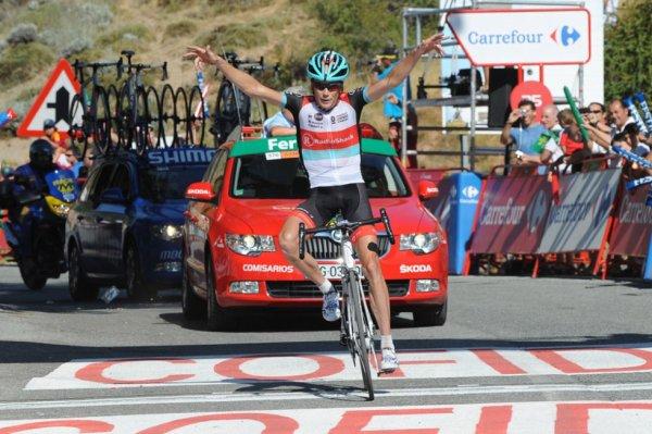 Tour d'Espagne 2013 (10eme étape) : 2eme victoire pour le vétéran Chris Horner qui ravit le maillot rouge...