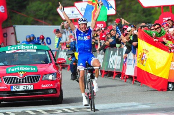 Tour d'Espagne 2013 (15eme étape) : Alexandre Geniez s'impose à Peyragudes, Nibali assure...