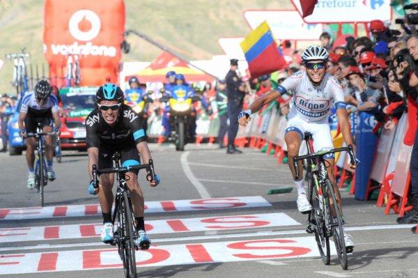 Tour d'Espagne 2013 (16eme étape) : Warren Barguil remporte une 2eme victoire, Nibali en difficulté