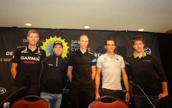 Grand Prix Cycliste de Québec 2013 : l'élite mondiale sera présente...