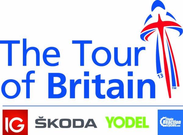 Logo Tour de Grande Bretagne 2013