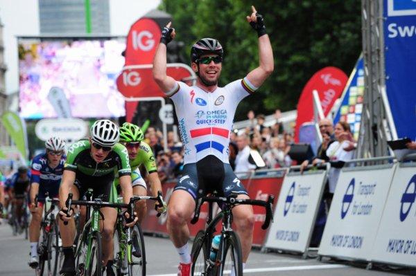 Tour de Grande-Bretagne 2013 (8eme étape) : Cavendish vainqueur d'étape, Wiggins le général; Les anglais s'imposent à Londres...