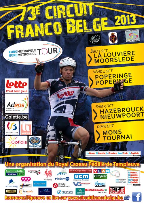 Affiche Officielle Tour de l'Eurométropole 2013