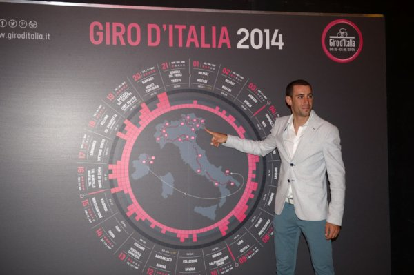 Présentation Tour d'Italie 2014 : Grand Départ...d'Irlande...