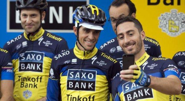 Alberto Contador visera Tour de France et Vuelta en 2014...