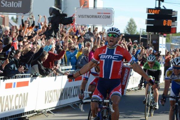 Tour de Pékin 2013 (1ere étape) : Victoire de Thor Hushovd au sprint...