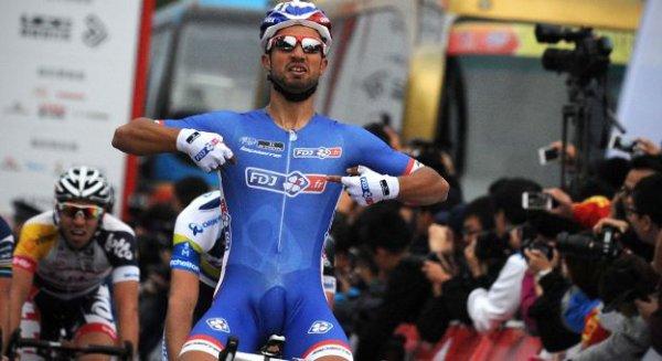 Tour de Pékin 2013 (3eme étape) : 2eme victoire consécutive pour Nacer Bouhanni...