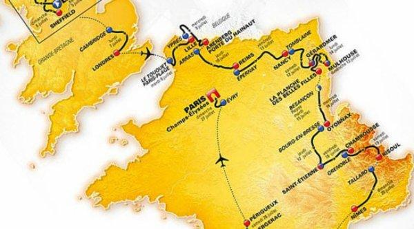 A l'est, du nouveau pour le Tour 2014