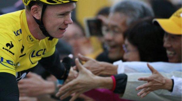Critérium de Saitama 2013 : Christopher Froome l'emporte devant Peter Sagan...