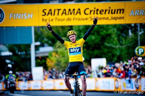 Critérium de Saitama 2013 Christopher Froome